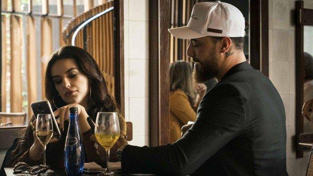 Camila e o namorado