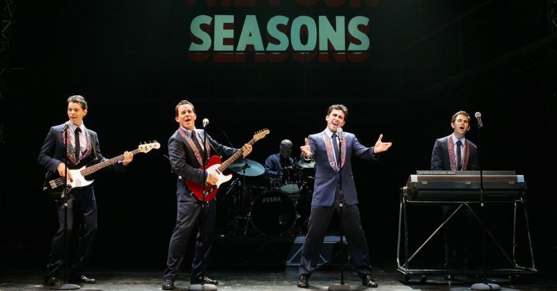 Uma das montagens da Broadway de Jersey Boys