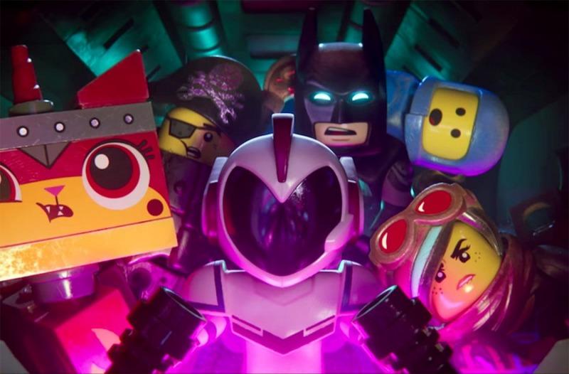 Alguns dos personagens da animação