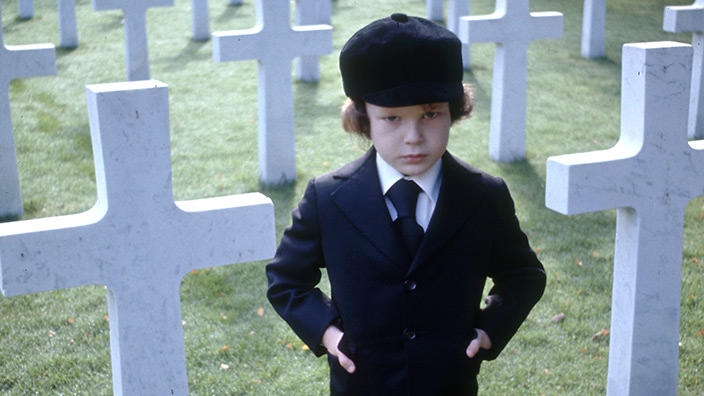 Damien no filme A Profecia de 1976