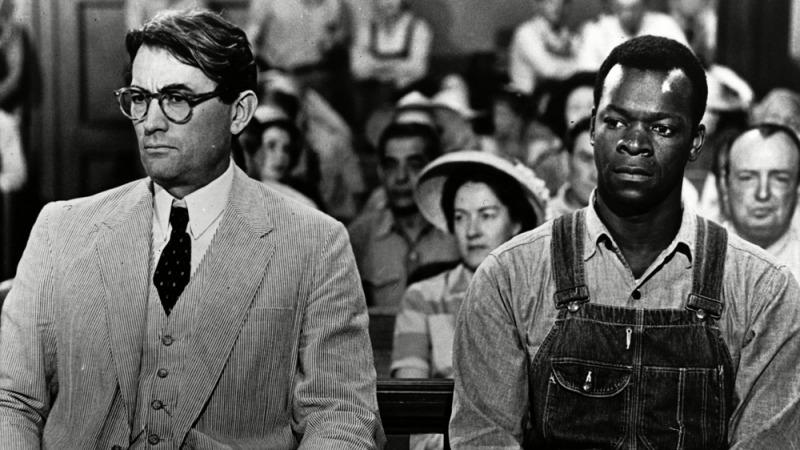 Gregory Peck em cena do filme de 1963 de O Sol é Para Todos