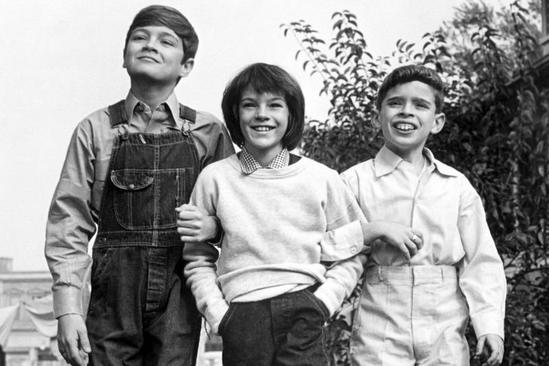 Jem, Scout e Dill no filme O Sol é Para Todos
