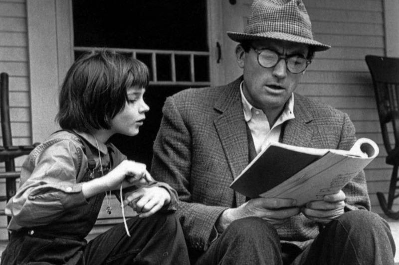 Scout e Atticus
