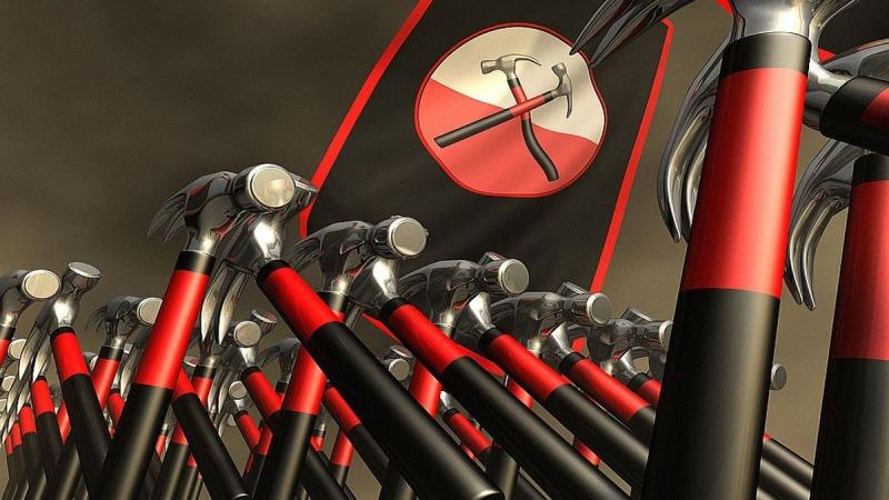Uma das animações feitas por Gerald Scarfe