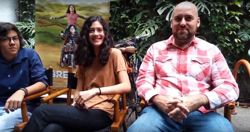 Cauã Martins, Lara Boldorini e Mauro D'Addio falam sobre o filme Sobre Rodas