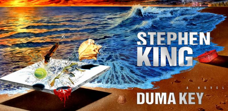 Arte referente ao livro Duma Key