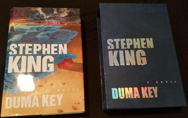 Edição em inglês de Duma Key