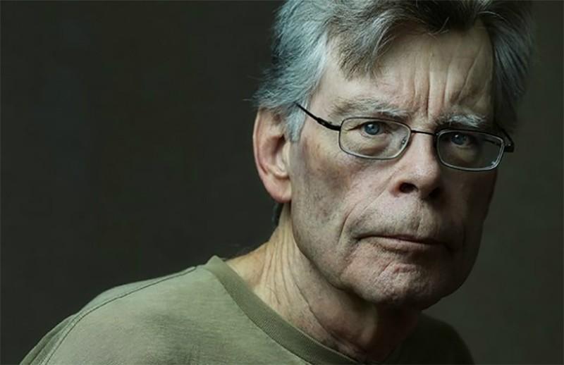 O autor Stephen King