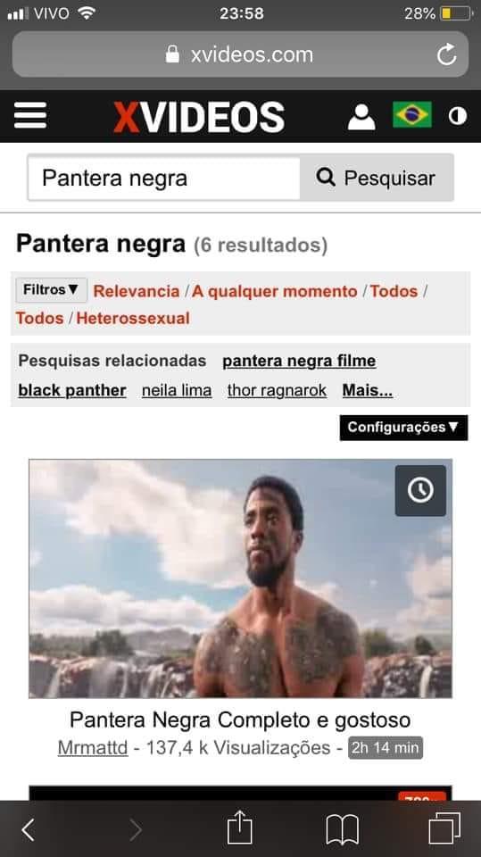 pantera-negra-xvideos