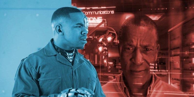 Joivan Wade é o Cyborg