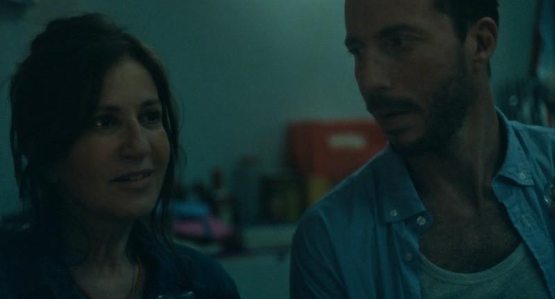 Marcela e Nacho em Família Submersa