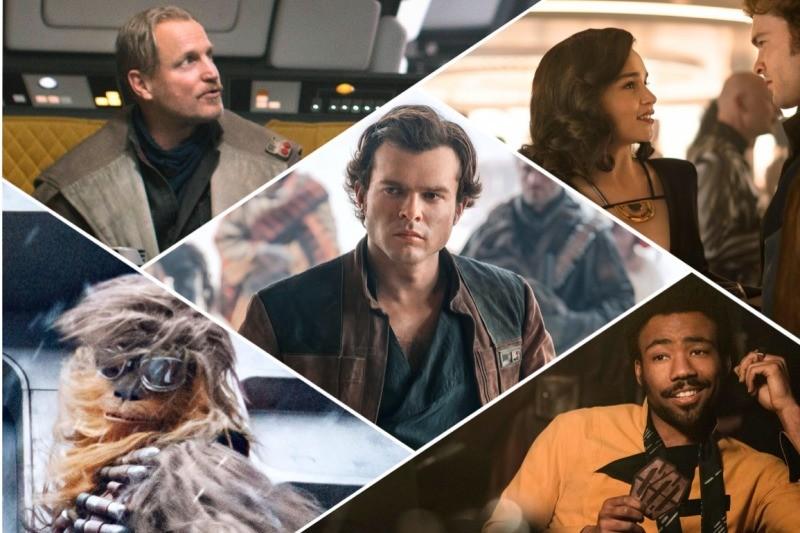 Alguns personagens de Han Solo