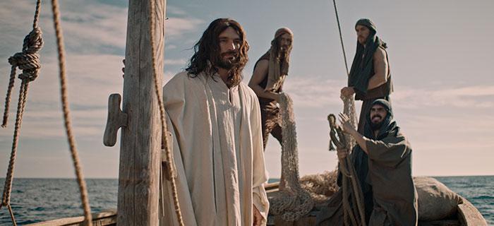 A história narrada no filme Jesus de Nazaré - O Filho de Deus é a presente na bíblia
