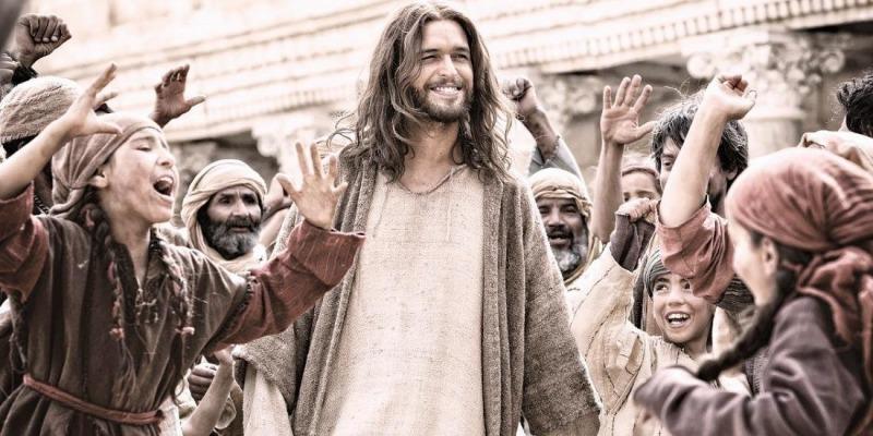 O filme fala sobre a mensagem de Jesus