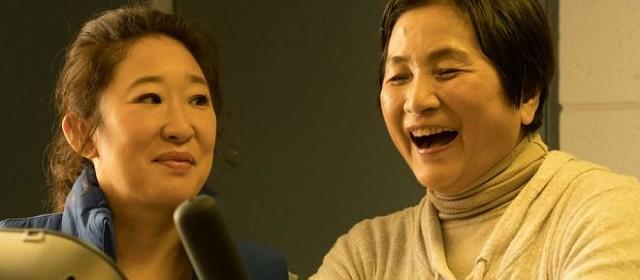 Sandra Oh e Pei-Pei Chang em Meditation Park
