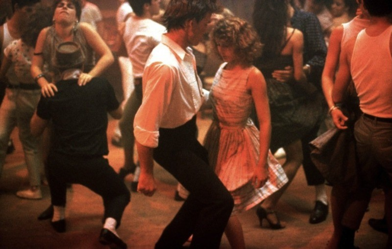O filme é repleto de cenas de dança