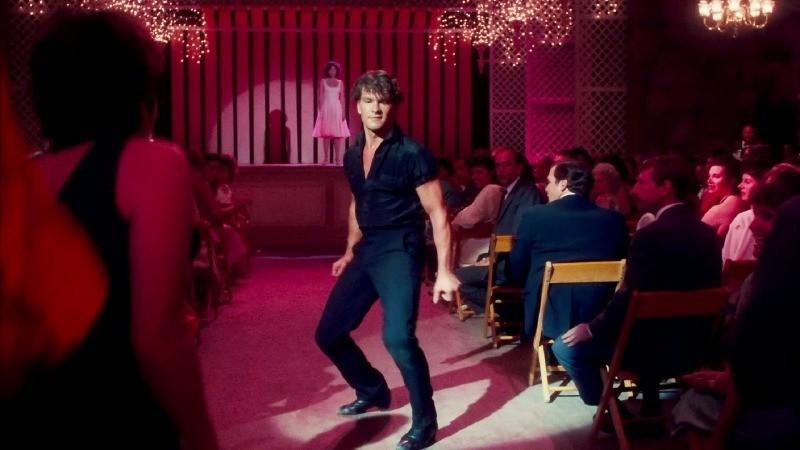 Patrick Swayze como Johnny