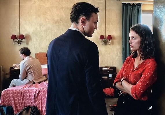 Georg e Marie no filme Em Trânsito