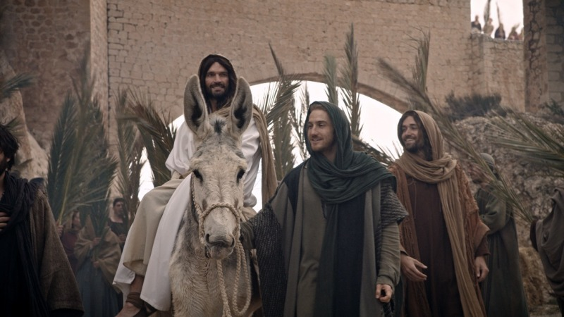 O filme retrata a história de Jesus de Nazaré