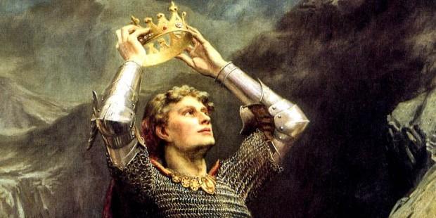 Ilustração de Arthur - O Único e Eterno Rei