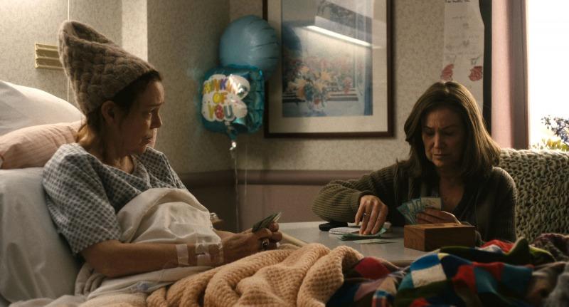 Diane visita regularmente a prima doente em A Vida de Diane