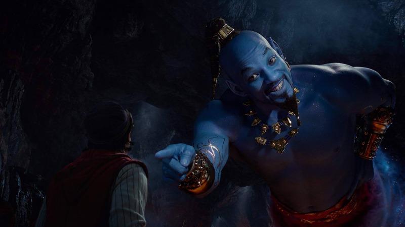 Will Smith é o Gênio da Lâmpada em Aladdin