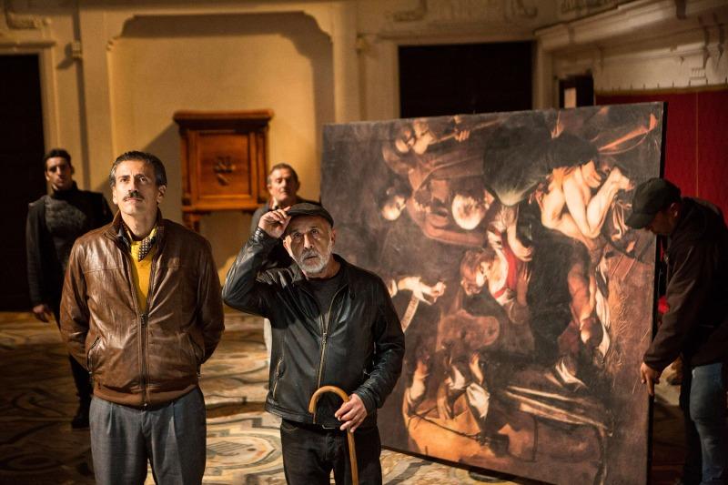 O Caravaggio Roubado que vai pra lá e pra cá