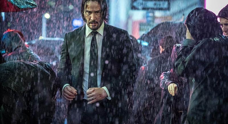 O filme John Wick 3 tem uma bela fotografia