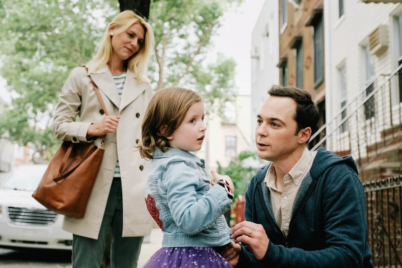 Claire Danes, Leo James Davis e Jim Parsons em Uma Criança Como Jake