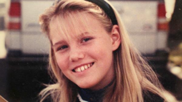 Jaycee Lee Dugard na época em que foi sequestrada
