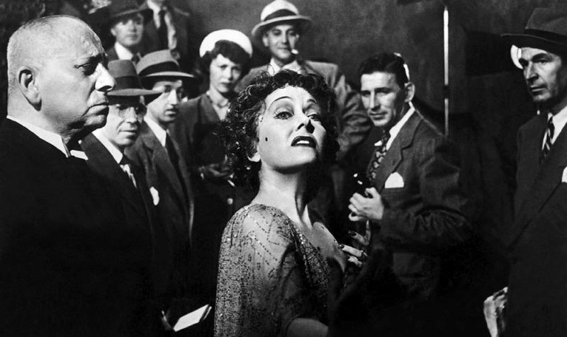 Gloria Swanson em cena do filme Crepúsculo os Deuses (Sunset Boulevard)