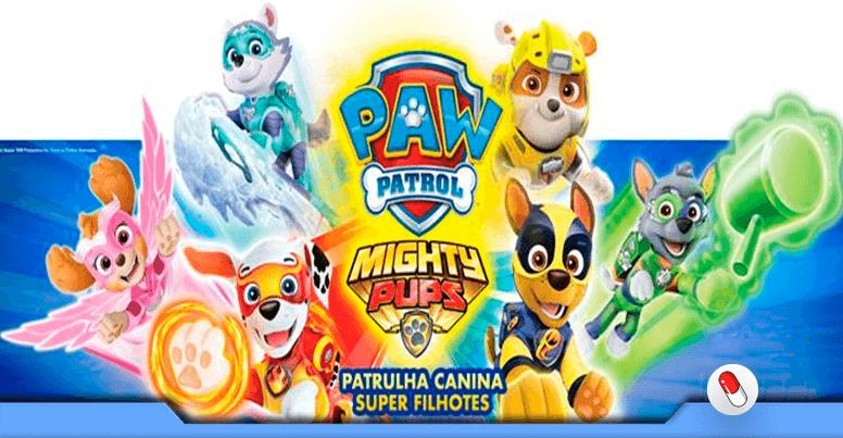 Patrulha Canina Super Filhotes Nickelodeon No Cinema Vitamina