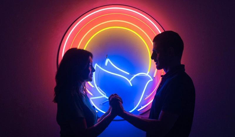 Joana e Danilo em Divino Amor