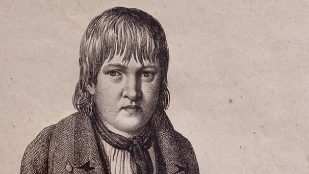Gravura de Kaspar Hauser - Os Grandes Impostores