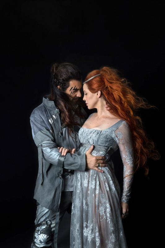 Lancelot e Guinevere em Merlin e Arthur