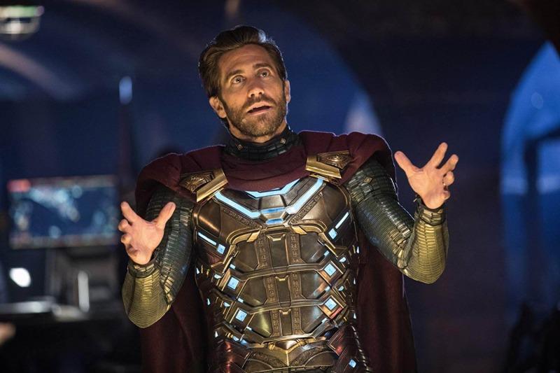 Jake Gyllenhaal em cena de Homem-Aranha: Longe de Casa