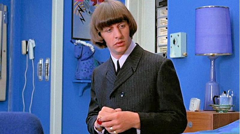 Ringo Starr é a estrela de Help!