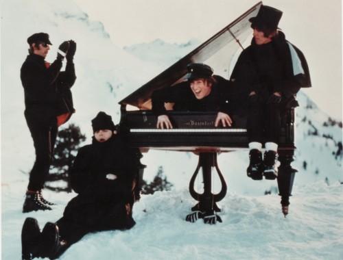 Os Beatles nos Alpes Suiços