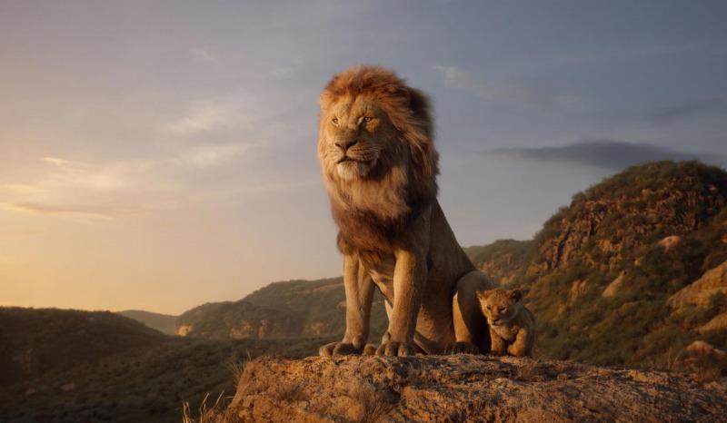 Mufasa em O Rei Leão
