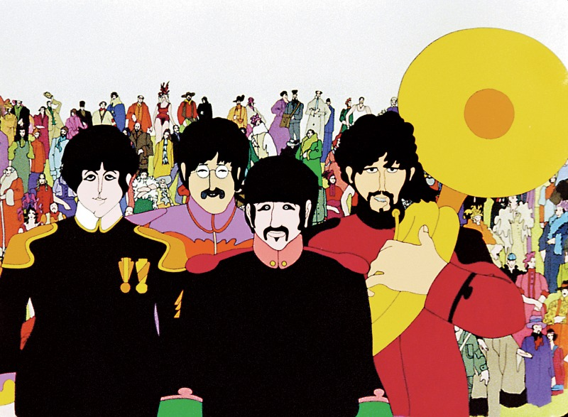 Yellow Submarine tem como intenção apresentar as músicas dos Beatles