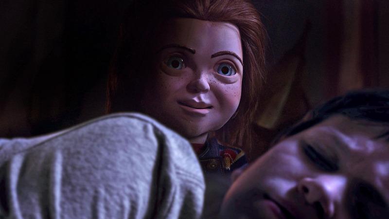 Chucky e Andy em Brinquedo Assassino