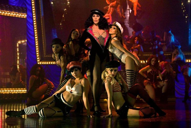 Cher em seu retorno ao cinema