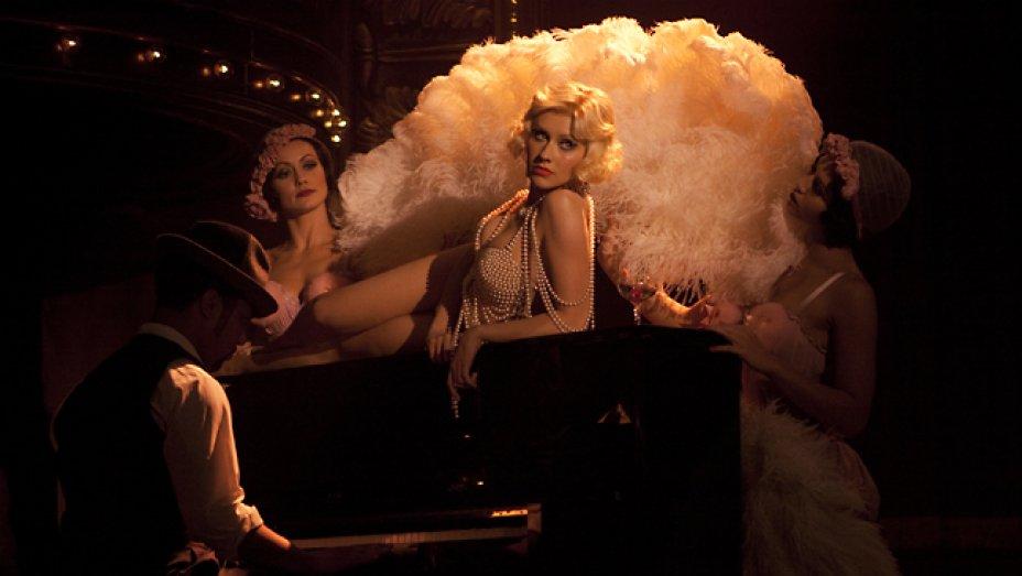 Christina Aguilera como Ali em Burlesque