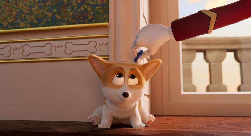 Rex é o cão favorito da rainha em Corgi: Top Dog