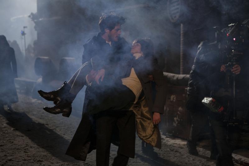 O filme abusa da estética steampunk