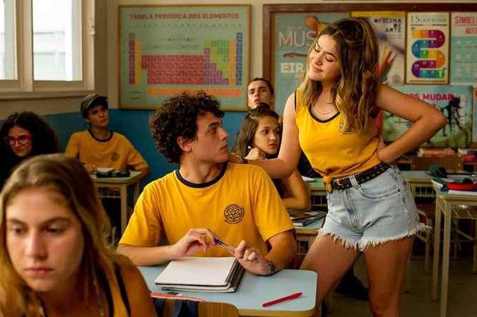 Marcus Bessa e Maisa Silva em cena do filme Ela disse Ele disse