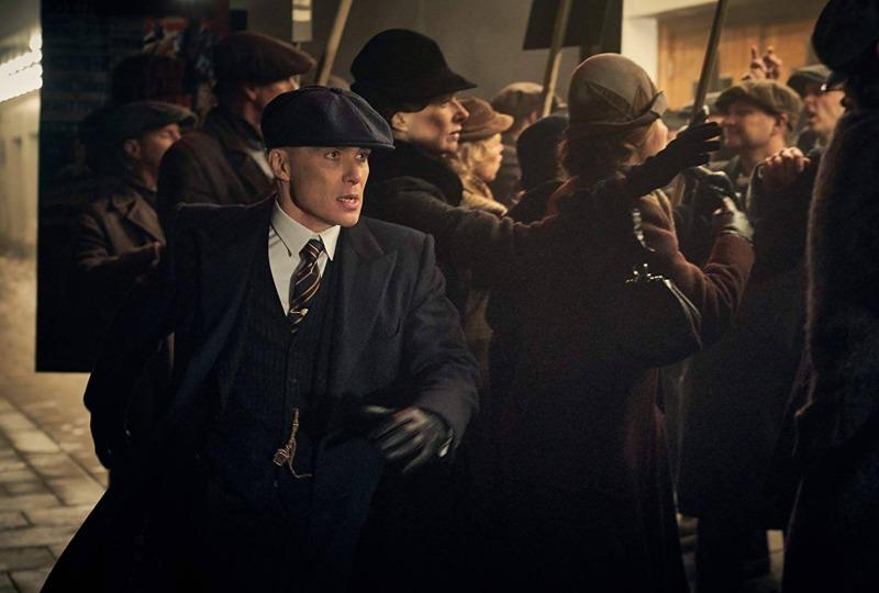 Cillian Murphy em cena de Peaky Blinders