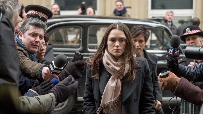 Keira Knightley como Katherine Gun em Segredos Oficiais