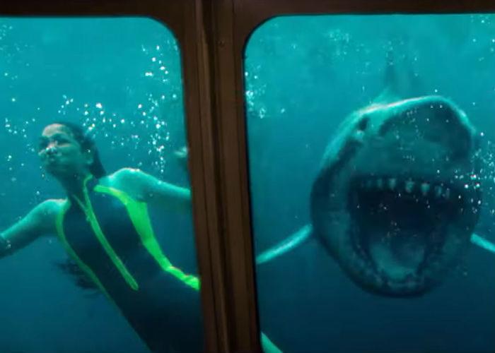 Corinne Foxx em cena do filme Medo Profundo: O Segundo Ataque