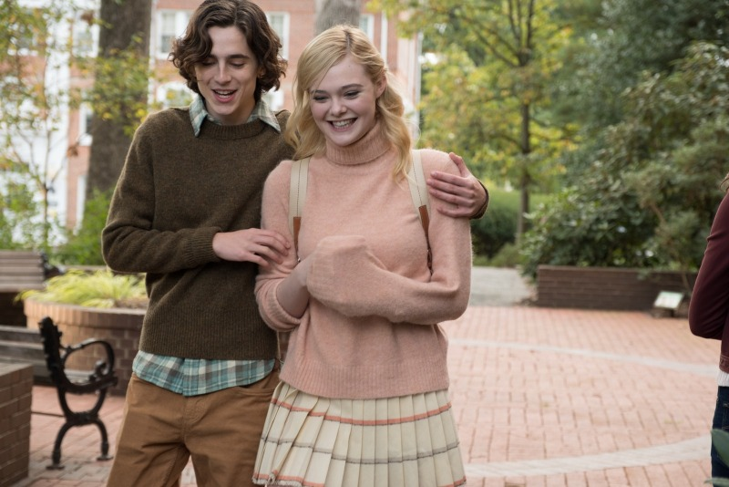 Gatsby e Ashleigh são um casal de universitários que vai passar um final de semana em Nova York